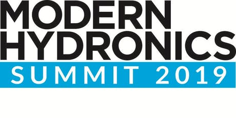 Modern Hydronics Summit 2019 - Exhibitors tickets