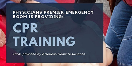 Community  CPR (Adult/ Child/ Infant CPR w/ AED & First Aid) tickets