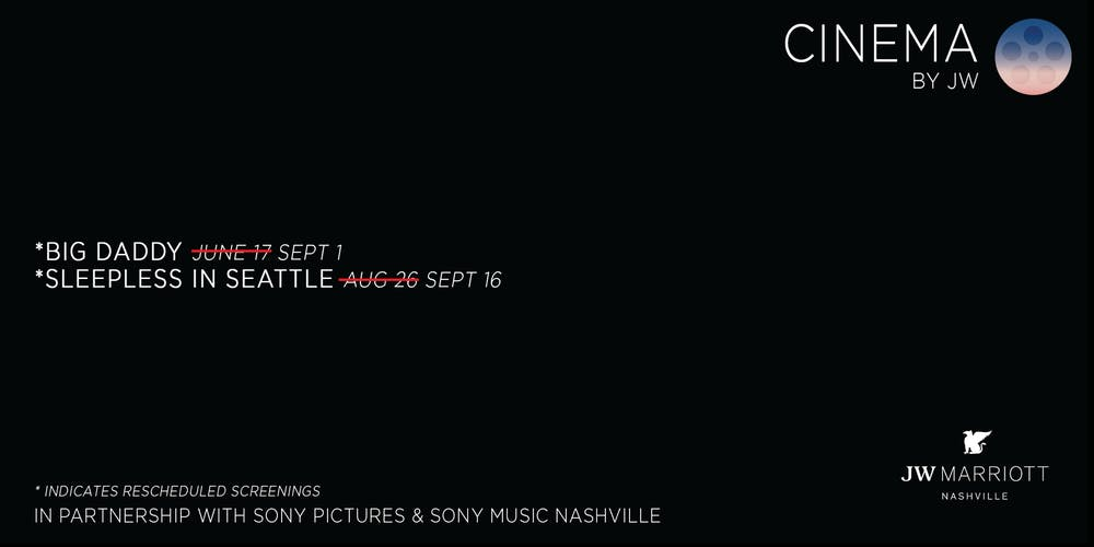 Cinema by JW Tickets, Multiple Dates | Eventbrite