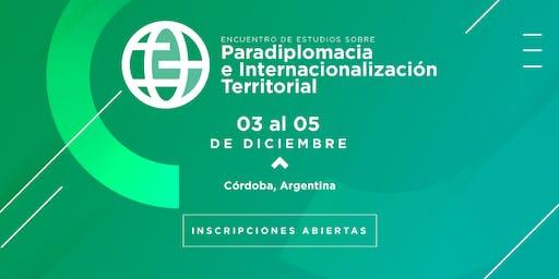 Encuentro Estudios sobre Paradiplomacia e Internac