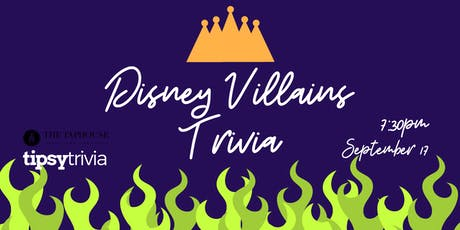 Disney Villains Trivia - Sept 17, 7:30pm - The Taphouse Coquitlam tickets