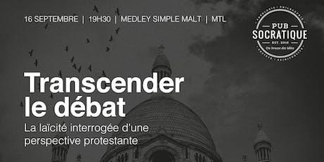 Transcender le débat: la laïcité interrogée d'une perspective protestante tickets