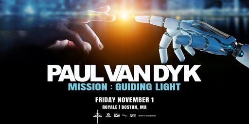 Paul van Dyk | 11.1.19 | 10:00 PM | 21+