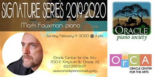 Signature Series: Mark Fouxman, piano