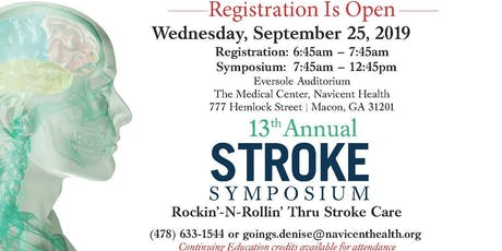Navicent Health's 13th Annual Stroke Symposium tickets