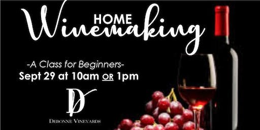 Home Winemaking Class for Beginners