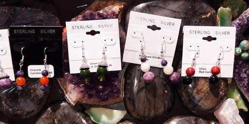 Create-Your-Own Semi Precious Stone Earrings