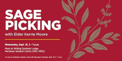 Sage Picking with Elder Kerrie Moore