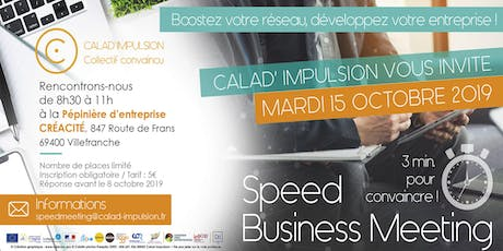 Speed Business Meeting Calad' Impulsion billets