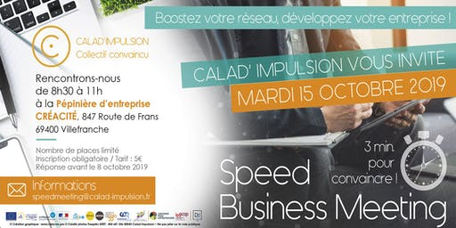 Speed Business Meeting Calad' Impulsion