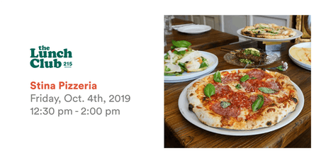 TLC October Lunch at Stina Pizza tickets
