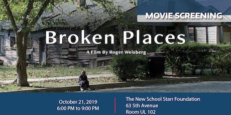 Film Screening of 'Broken Places' tickets