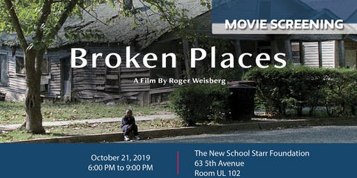 Film Screening of 'Broken Places'