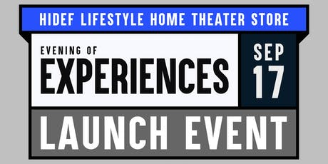 Evening of Experiences: Launch Event & Giveaways tickets