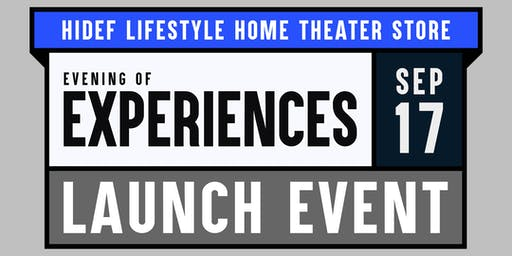 Evening of Experiences: Launch Event & Giveaways