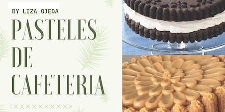 Pasteles para Cafetería con la Chef Liza Ojeda en Anna Ruíz Store entradas