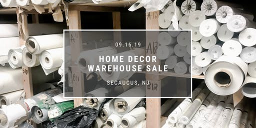 Interior Design Warehouse Sale