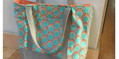 Make a Lined Shopper Tote Bag