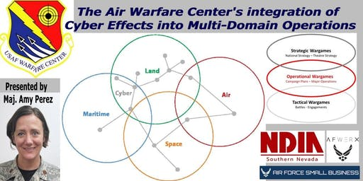 The Air Warfare Center's integration of Cyber Effects into Multi-Domain Operations