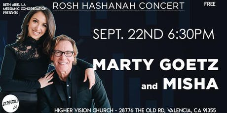 Marty Goetz & Misha in Concert Tickets