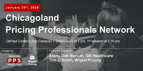 Chicagoland Pricing Professionals Network, January 2020 - Featuring Atanu Deb Baruah of GE Healthcare tickets