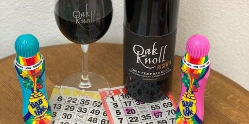 November 8 Bingo & Wine