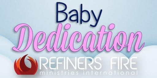Baby Dedication at Refiner's Fire Ennis - January