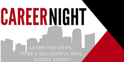 Introduction to a Career in Real Estate-Evening Class!