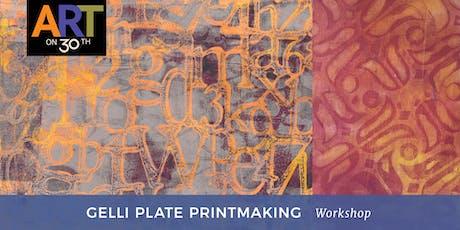 Gelli Plate Printmaking Workshop with Denise Cerro tickets