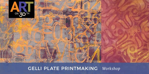 Gelli Plate Printmaking Workshop with Denise Cerro