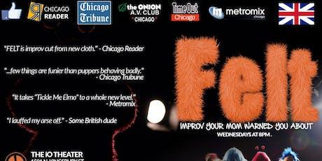 Felt: An Improvised Puppet Show, The Harold Team Stork tickets