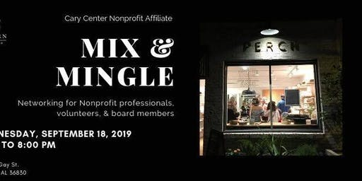 Cary Center Nonprofit Affiliate Mix & Mingle