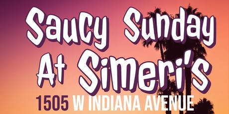 Saucy Sunday at Simeri's tickets