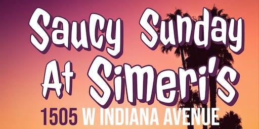 Saucy Sunday at Simeri's