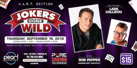 Jokers Gone Wild - C.A.R.T Edition! tickets