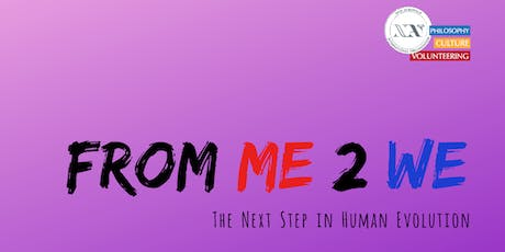 From Me to We - The Next Step in Human Evolution tickets