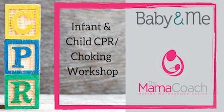 Infant & Child CPR/Choking Workshop tickets