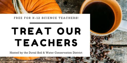 Treat Our Teachers ~ October
