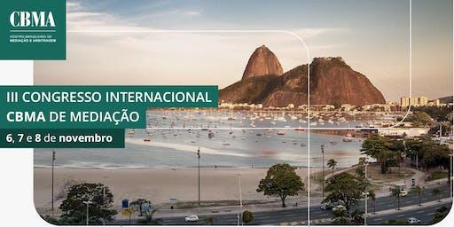 III CONGRESSO INTERNACIONAL CBMA DE MEDIAÇÃO