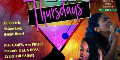 Happy Hour Thursdays at Gigi's Music Cafe with MoonChild - Live Broadcast