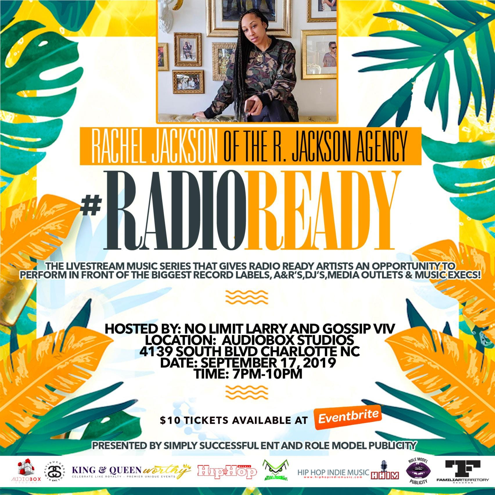 #RadioReady The Livestream Music Series
