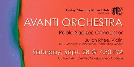 Avanti Orchestra | Mendelssohn, Mozart, and Schubert tickets
