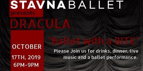"""Dracula: """"Ballet with a BITE"""" tickets"""