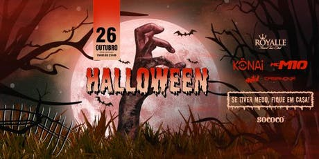 Halloween - MC M10 & KONAI @ Royalle SP ingressos
