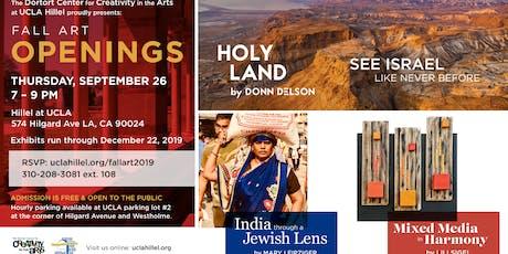 Hillel Fall Art Opening tickets