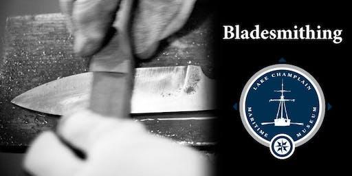 Bladesmithing with Tom Larsen and Samantha Williams, April 25-26
