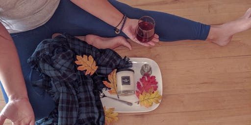 Fall Candles & Flow Yoga