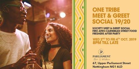 One Tribe Meet & Greet Social 19/20 tickets