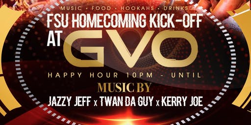 FSU HOMECOMING KICK-OFF ON THURSDAY @ GVO