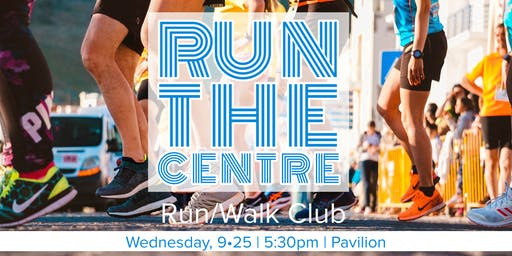 Run the Centre: Run/ Walk Club Inaugural Event